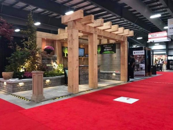Green Dutch booth at the Ottawa Fall Home Show