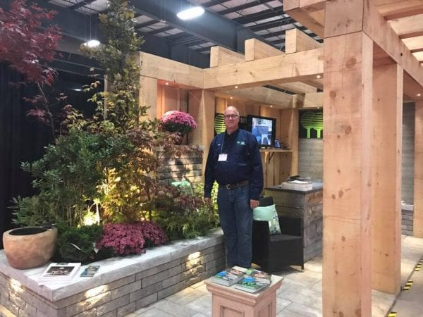Green Dutch booth at the Ottawa Fall Home Show with Nico