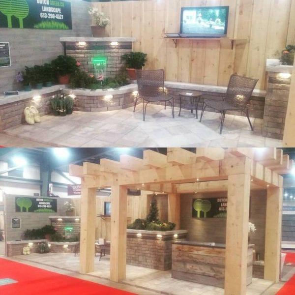 Dutch Green's booth at the Ottawa Home & Garden Show