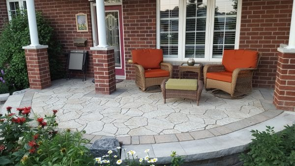 Front porch patio