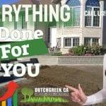Dutch Green in Ottawa we do it all