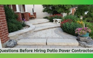 Questions Before Hiring Patio Paver Contractor