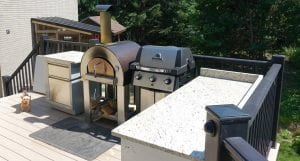 Custom outdoor kitchens in Ottawa